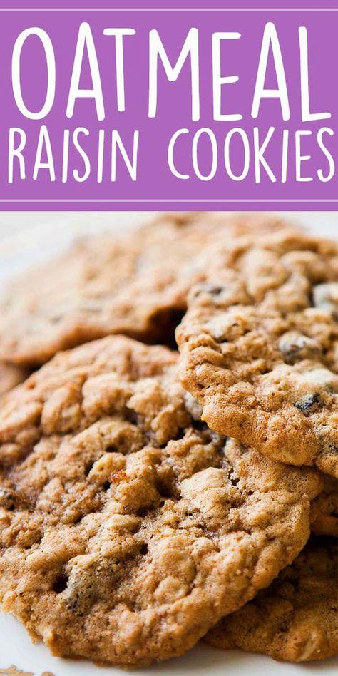 Oatmeal Raisin Cookies {Best Recipe Ever!}