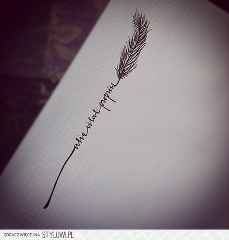 alis volat propriis   latin for she flies with her own wings