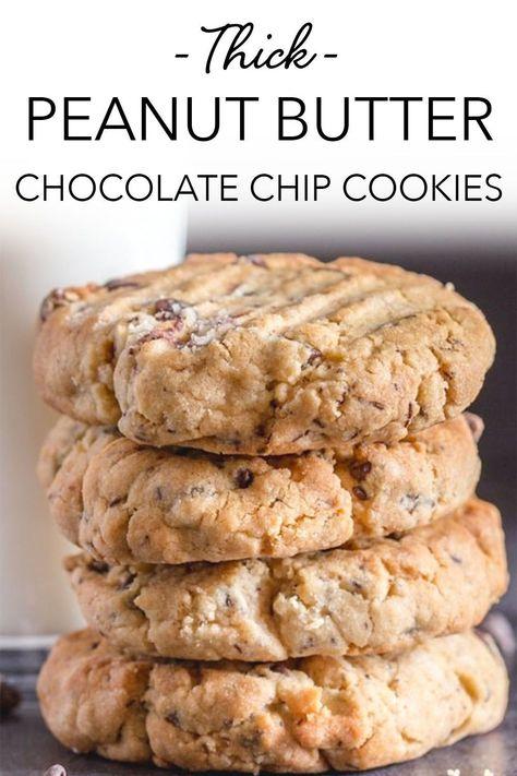 Cookie Desserts, Just Desserts, Delicious Desserts, Dessert Recipes, Cookie Bars, Yummy Drinks, Dessert Ideas, Best Peanut Butter Cookies, Chocolate Peanut Butter