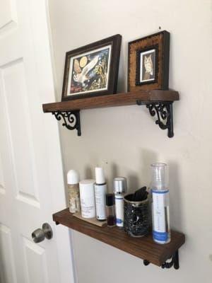 Small Cast Iron Scroll Shelf Bracket 3 3 4 X 5 Shelf Brackets Antique Shelf Brackets Shelves
