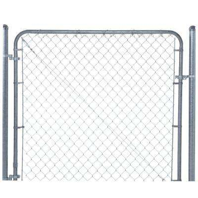 12 Foot Galvanized Fence Post Chain Link Fence Installation Chain Link Fence Chain Link Fence Cost