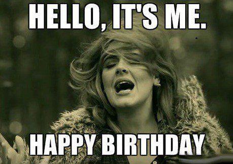 Happy 40th Birthday Meme Funny Wednesday Memes Funny Happy Birthday Meme Happy Birthday Quotes Funny