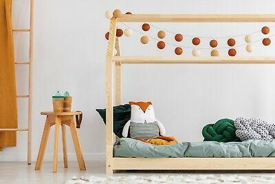 160x200cm maison de lit dimensions Lit Cabane Enfant Bébé 60x120cm