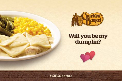 Will you be my dumplin? #CBValentine