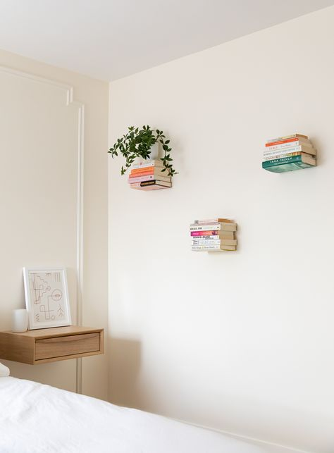 Hey guys! I'm Alexandra Gater and I show you how to do rental-friendly upgrades and DIY projects on a budget. New videos every Saturday! Today I'm turning a boring, grey bedroom into a boho, Parisian-inspired oasis! I can't wait to show you how I did the DIY Parisian-style wall moulding. Photo: Lauren Kolyn. #parisianbedroom #bohoparisian #bohobedroom #diywallmoulding #diymoulding #alexandragater #floatingbookshelves #brightandairybedroom #bedroommakeover #bedroomtransformation