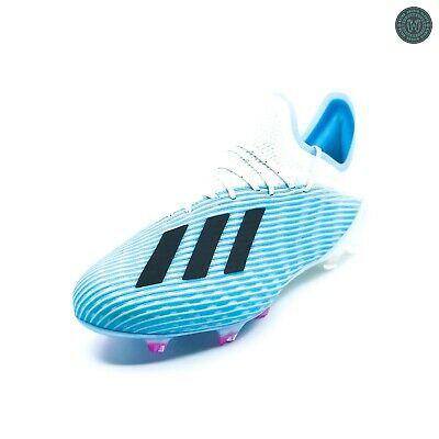 Advertisement Ebay Adidas X 19 1 Fg Soccer Cleats Bright Cyan Black Brand New In Box F35316 In 2020 Soccer Cleats Mens Soccer Cleats Football Shoes