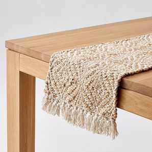 Pin By Leilani Wood On Ikea Home Makeover Table Runners Dining Room Style Decor