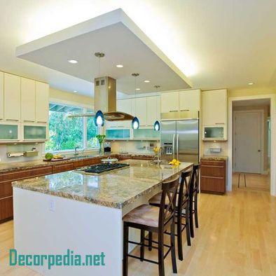 Kitchen Pop Design Pop False Ceiling Design For Kitchen With Led Lights Kitchen Lighting Home Decor Kitchen False Ceiling Design