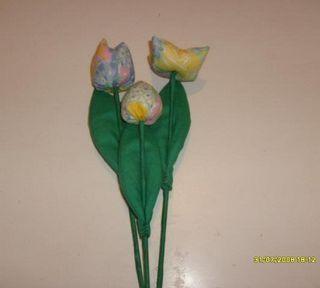 ROSANA ARTE E DICAS : FUXICO Flores de tecido - Passo a Passo