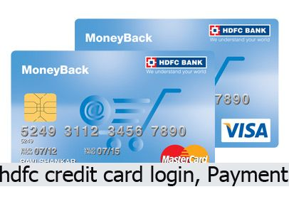 Hdfc Credit Card Login Payment And Customer Care In 2020 Credit