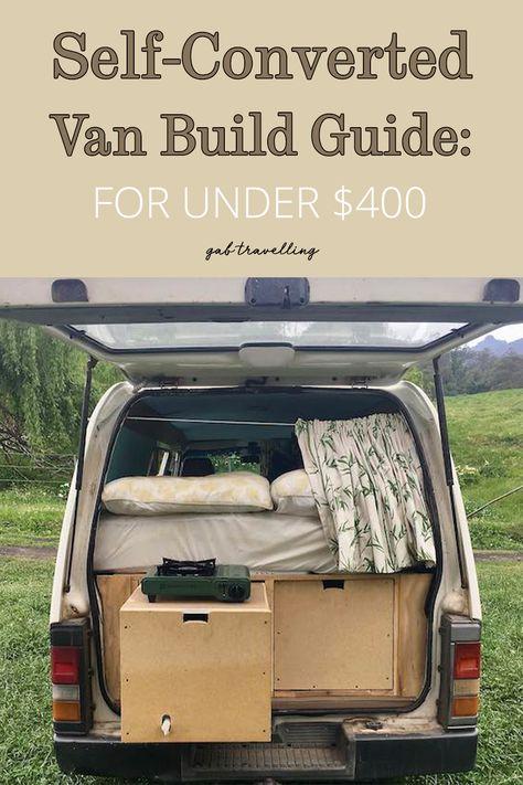 Self-Converted Van Build Guide