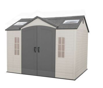 Lifetime 10 X 8 Ft Garden Building Garden Buildings Metal Storage Sheds Shed Storage