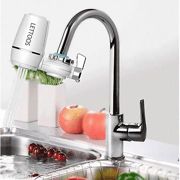 Lts 86 Tap Faucets Water Filter Washable Ceramic Faucets Mount Water Purifier Lettoos Filtered Water Faucet Water Filter Ceramic Water Filter