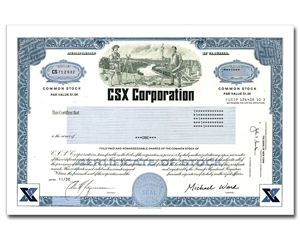 Buy One Share Of Csx Stock In 2 Minutes For Yourself Or As An