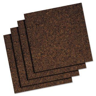 Quartet 12 X 12 Brown Cork Panel Bulletin Board Cork Panels Cork Bulletin Boards Cork Tiles