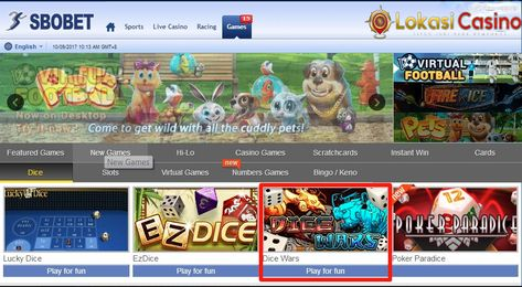Panduan Bermain Dice Wars Di Casino Online Sbobet Kasino Hadiah