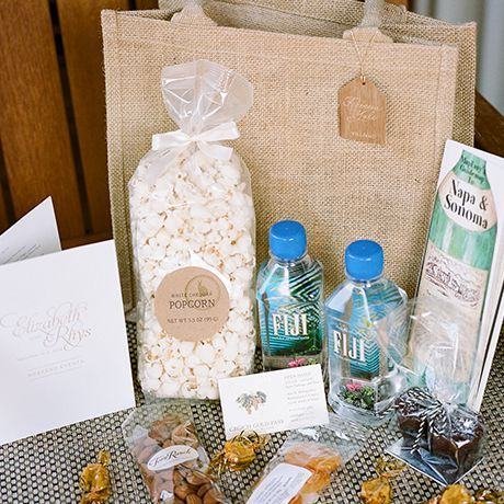 The Best Wedding Gift Bag Ideas For Hotel Guests And Description In 2020 Welcome Bags Wedding Gifts For Guests Wedding Guest Bags