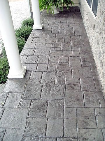 Pin On Stamped Concrete Patterns