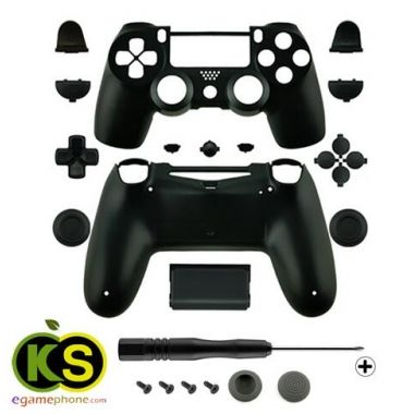 Ps4 Custom Black Replacement Full Housing Shell Case Part Kit For Sony Ps4 Playstation Wireless Controller Hot Selling Playstation Ps4 Sony