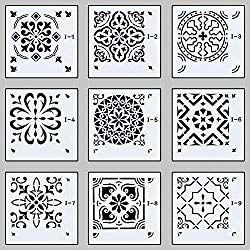 25 modern moroccan tile stencils
