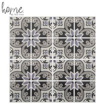 Gray Medallion Tile Adhesive Wall Art Hobby Lobby 1732916 Adhesive Wall Art Adhesive Tiles Wall Decor Online
