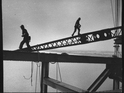 Steel workers. American industry.