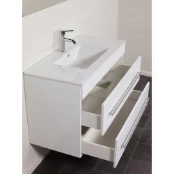 Unterschrank Infinity 1000 Weiss Hochgl Ohne Waschbecken Emotionemotion Unterschrank Waschbecken Unterschrank Badezimmer Einrichtung