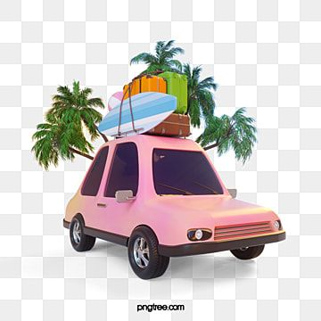 Pink Car Travel 3d Element Car Clipart Self Driving Travelling Car Png Transparent Clipart Image And Psd File For Free Download Pink Paint Pink Car Pink Watercolor