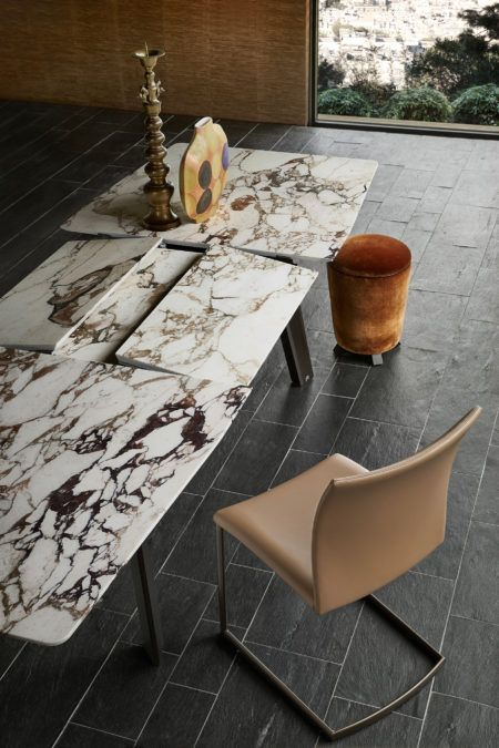 Modern Stone Dining Table Extendable Table By Draenert Stone