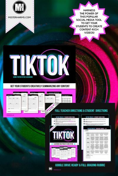 Tik Tok Video Activity Summarize Any Content Using Tiktok Distance Learning Social Studies Middle School Distance Learning High School Social Studies