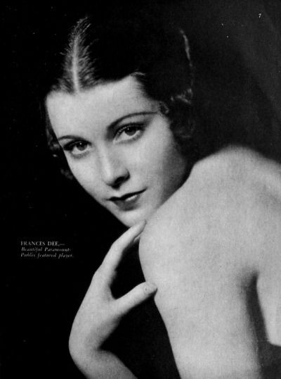 Frances Dee Silver Screen Golden Age Of Hollywood She Movie