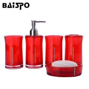 Embroidered Sign Bath Towel Bath Sign Bathroom Red Bathroom Accessories