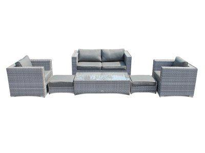 Superb Ascot Outdoor Rattan Sofa 2 Seat In Grey Ascot Rattan Machost Co Dining Chair Design Ideas Machostcouk