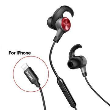 Baseus Earphone For Lightning In Ear Earphones Earbuds Earphone Headset