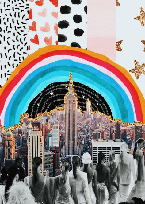 Fell in Love. His Name Is New York. Art Print by alisonleetaylor