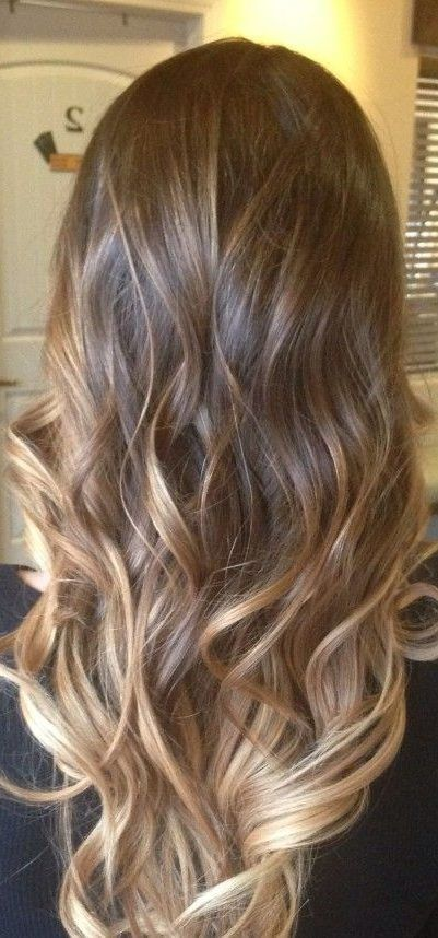 45 Dark Brown To Light Brown Ombre Long Hair Color Ideas Long