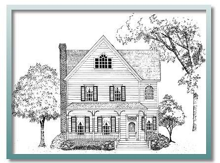 Authentic Historical Designs LLC House Plan I Like The Exterior Of This Not So Thrilled On Interior Layout
