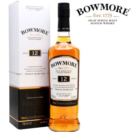 Bowmore 12 Anos Islay Single Malt En 2020 Whisky Whisky Japones