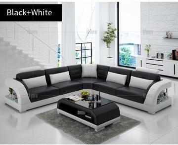 IFUNS Modern Design L Shape Sectional Sofa Set