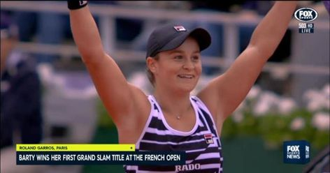 Ash Barty Wins French Open Final 2019 Video Result Score French Open Final Ashleigh Barty Wins Defeats Marketa Australian Open 2019 Ashleigh Barty Defeats Y Di 2020