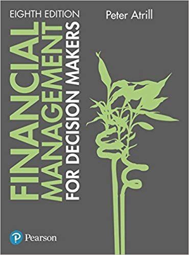 Solution Manual For Financial Management For Decision Makers 8th Edition Edition By Peter Atrill Students Manuals Financial Management Financial Decisions