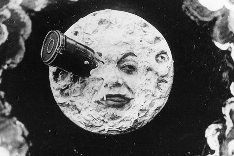 "Nyctalope on Instagram: ""A scene from Georges Méliès's 1902 film A Trip to the Moon. ⠀⠀⠀⠀⠀⠀⠀⠀⠀ #tarot #tarotcards #tarotreading #tarotreadersofinstagram #antique…"""