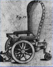 the first wheelchair in recorded time dates back many hundreds of years