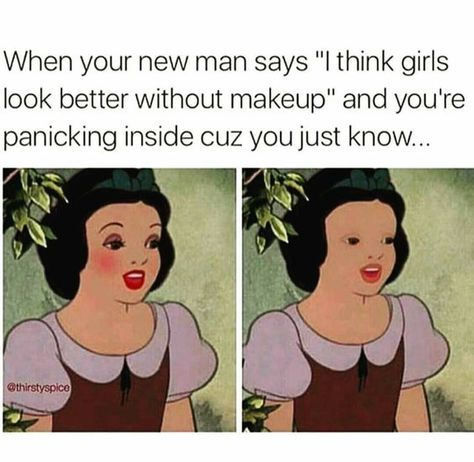 Are you looking for a good laugh? These hilarious, yet super relatable makeup memes will leave you in tears... #Makeup #MakeupMemes #Beauty #MakeupAddiction #Funny #Memes