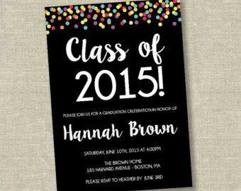 Invitación De La Graduación Invitación De Graduación De La