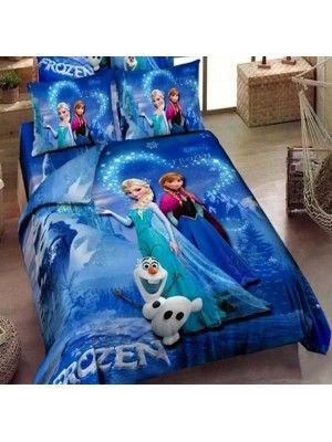 Frozen Copripiumino.Frozen Set Letto Copri Piumone Lenzuolo Federa 945002 Bambino