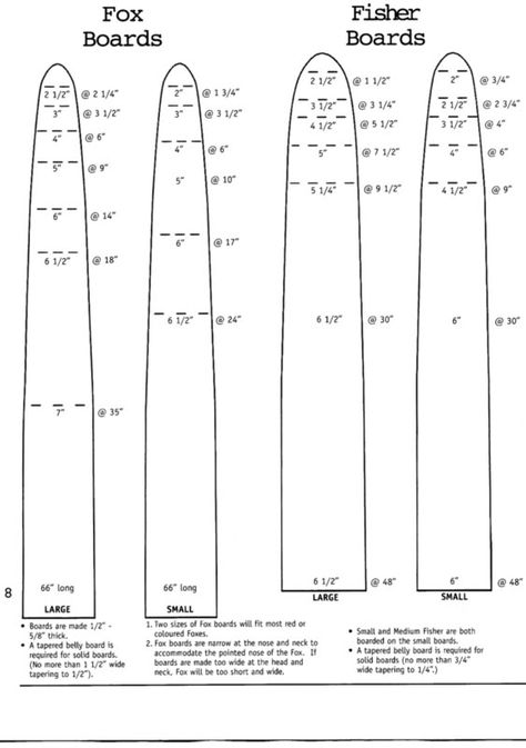 Mink Fur Stretcher Pattern
