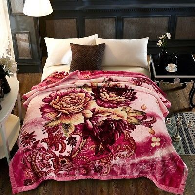 Winter Blanket 4kg Double Layers Thicker Blankets Throws Bed Cover 78 034 X90 034 Quilt Luxury Blanket Thick Blanket Bed Covers