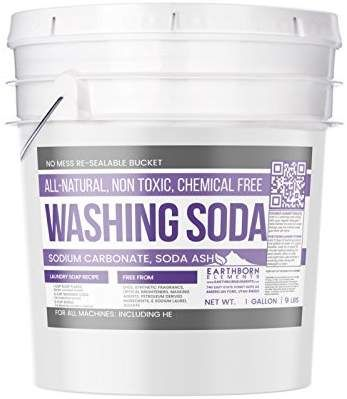 All Natural Washing Soda 1 Gallon 9 Lbs By Earthborn Elements
