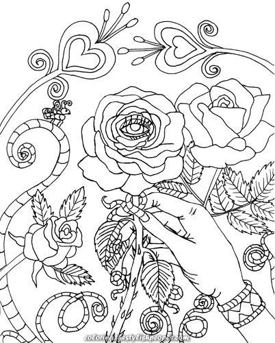 Breathtaking Malocchio Evil Eye Pink Coloring Web Page Coloring Web Page To Print Rose Coloring Pages Coloring Pages Coloring Books